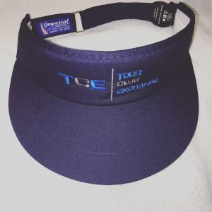 Tour Club Exchange Imperial Visor (Navy)