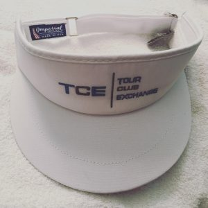 Tour Club Exchange Imperial Visor (White)